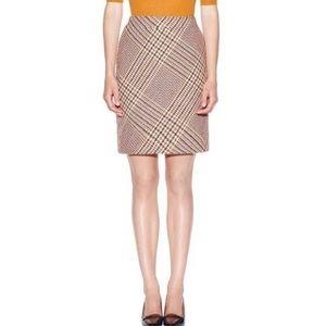 Tory Burch Jasmin Glen Plaid Pencil Skirt - sz 6